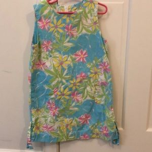 Lilly Pulitzer girls size 6x shift dress